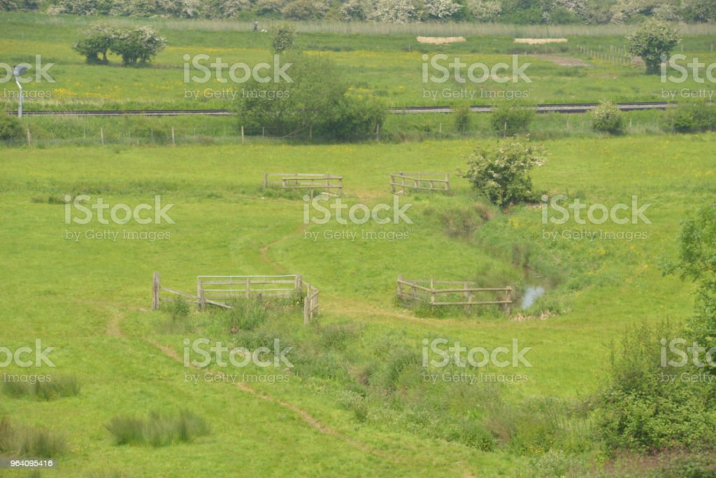 Country side in Arundel, West Sussex - Royalty-free Agricultural Field Stock Photo