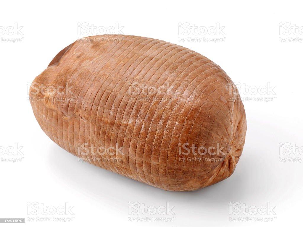 Country Smoked Ham royalty-free stock photo