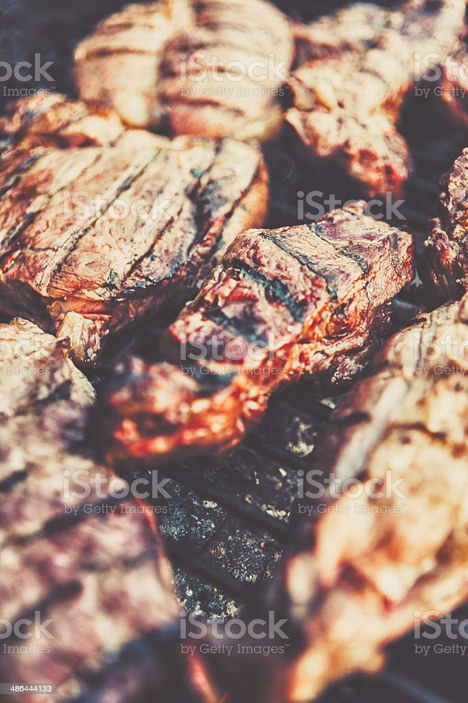 Country Style Ribs royalty-free stock photo