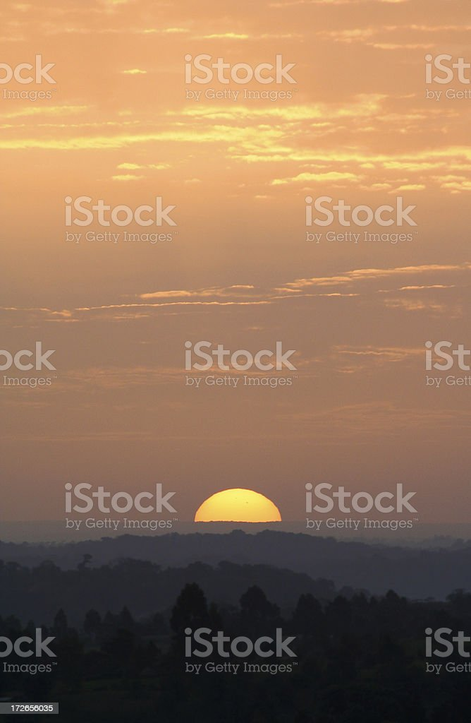 Country Sunrise 02 royalty-free stock photo