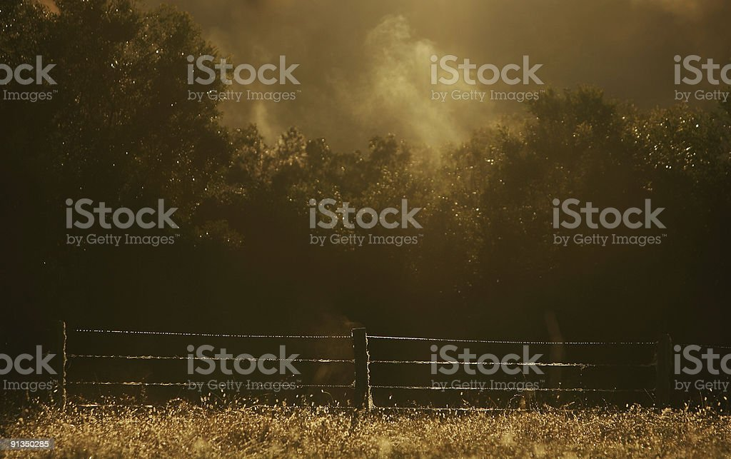 Country Sunrise royalty-free stock photo