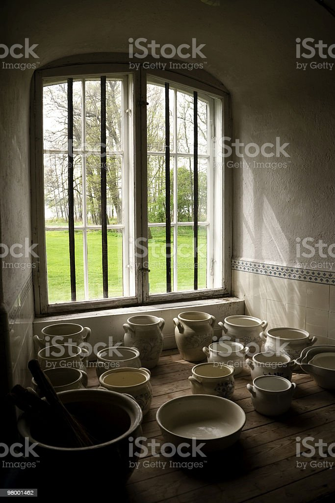 Country window royalty free stockfoto
