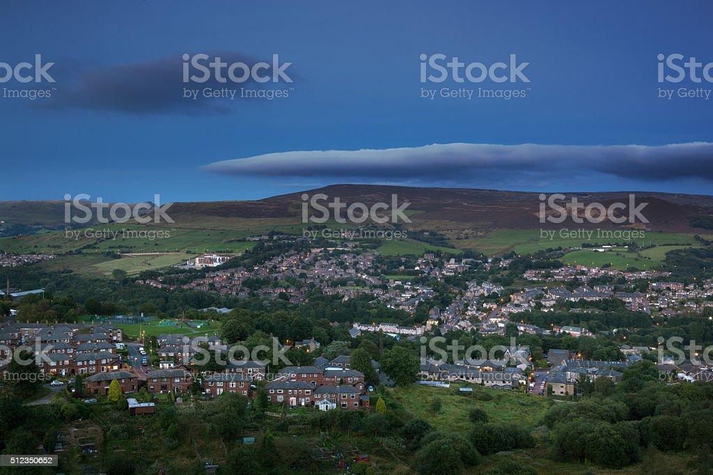 Countryside England stock photo