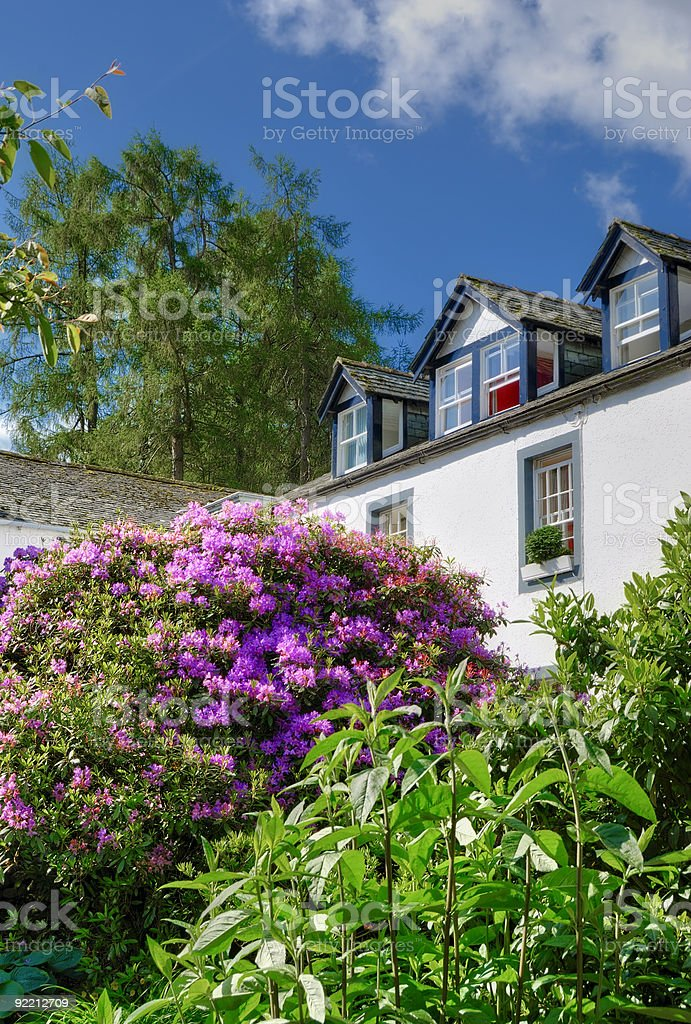 Countryside house royalty-free stock photo