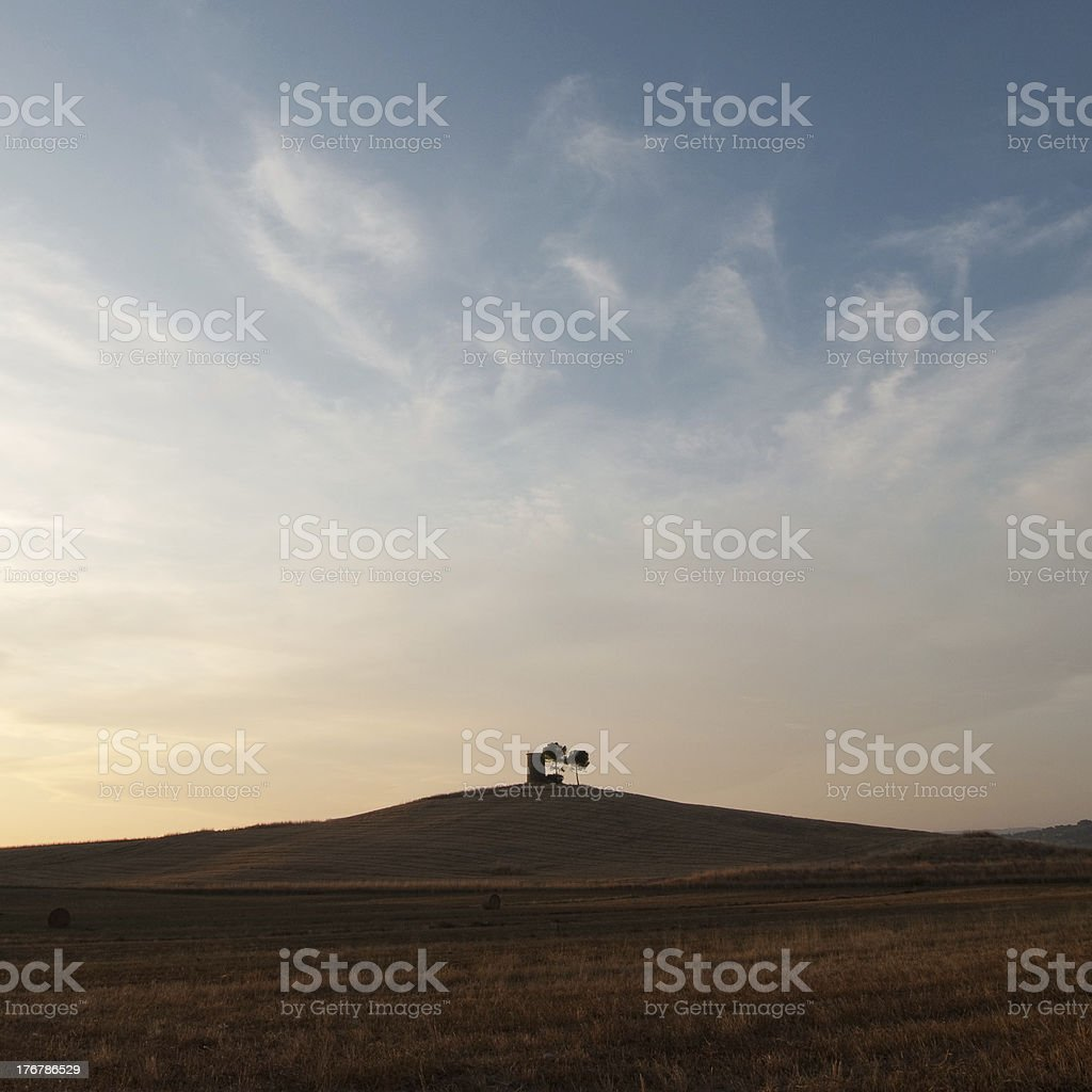 Countryside in tuscany stock photo
