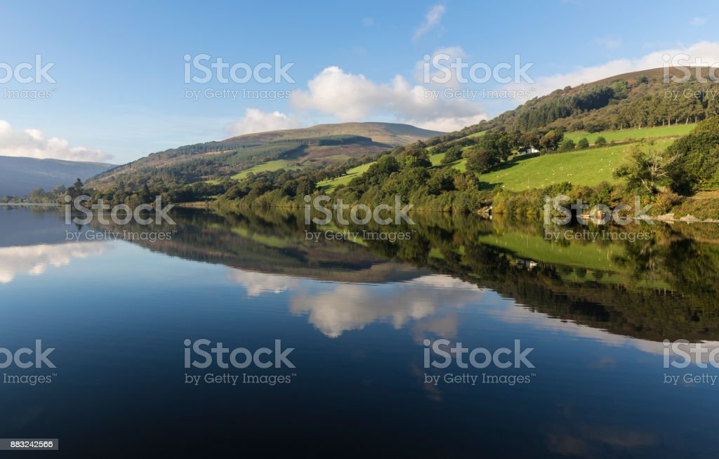 Countryside In Wales stock photo