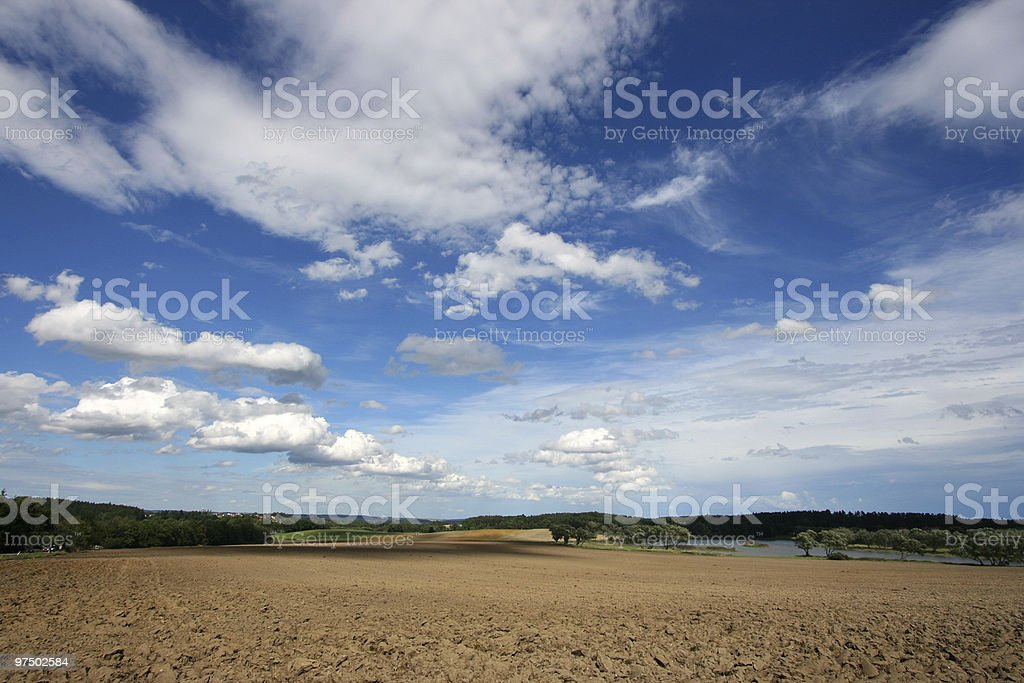 Countryside landscape royalty-free stock photo