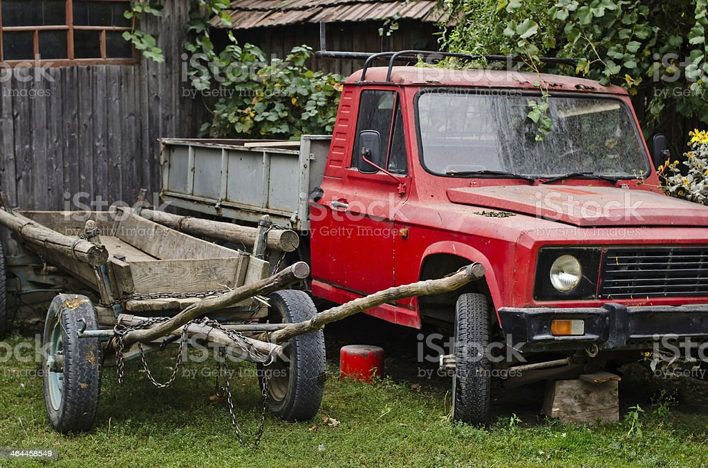 Countryside life. royalty-free stock photo