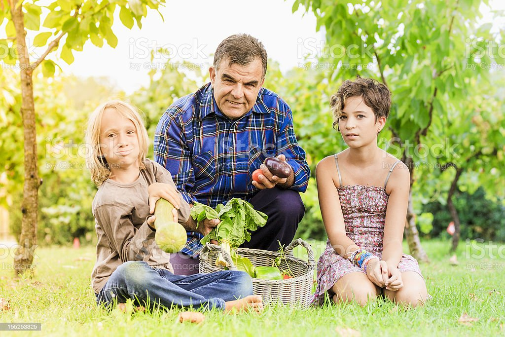 Countryside Lifestyle - Family royalty-free stock photo