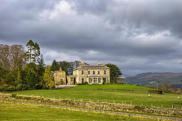 Landschaft manor house – Foto