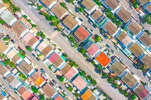 Countryside mansion village in Tai Sang Wai, yuen long , hong kong