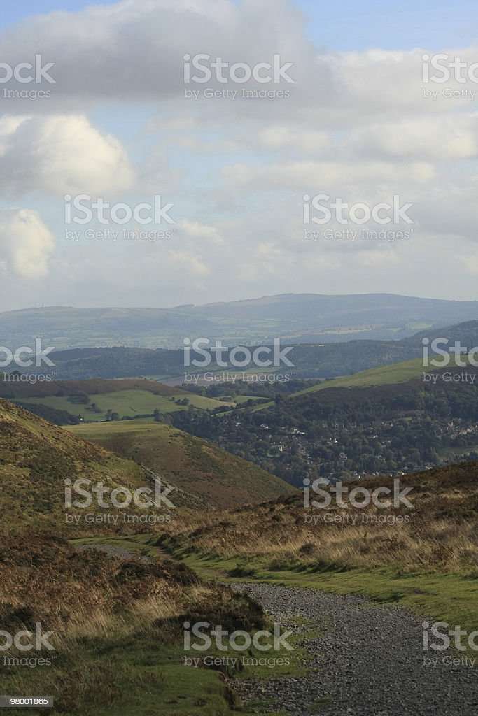 Countryside royalty free stockfoto