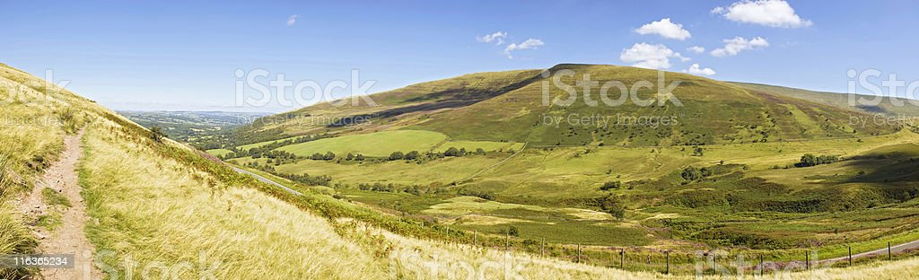 Countryside scene. royalty-free stock photo