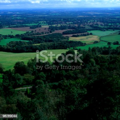Countryside South Of Leith Hill Surrey England Stock Photo & More Pictures of Color Image
