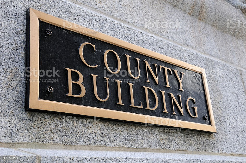 County Building royalty-free stock photo