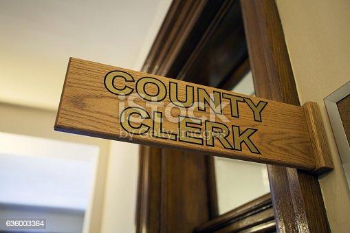 istock County Clerk Office 636003364