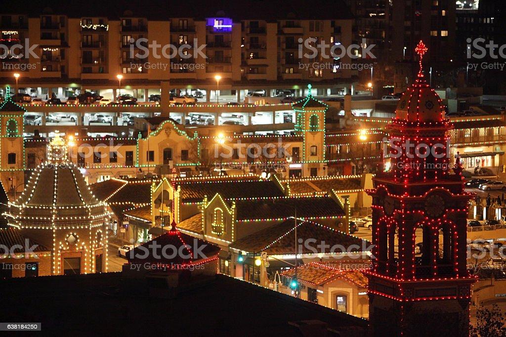 county club plaza kansas city christmas lights royalty free stock photo - Christmas Lights In Kansas City