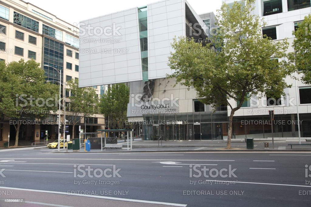 County Court Victoria royalty-free stock photo