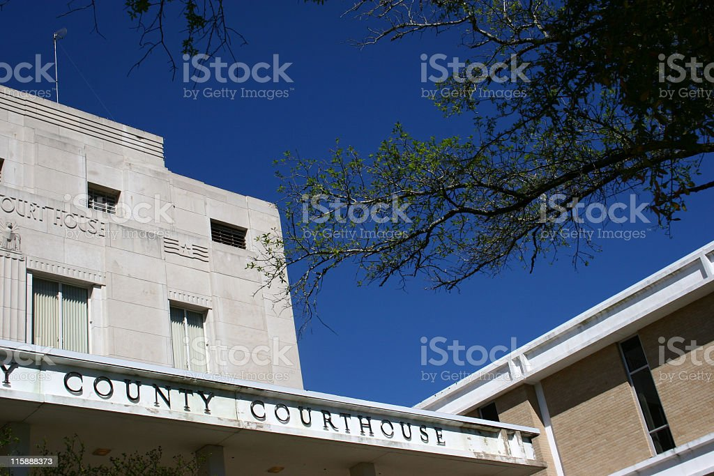 County courthouse royalty-free stock photo