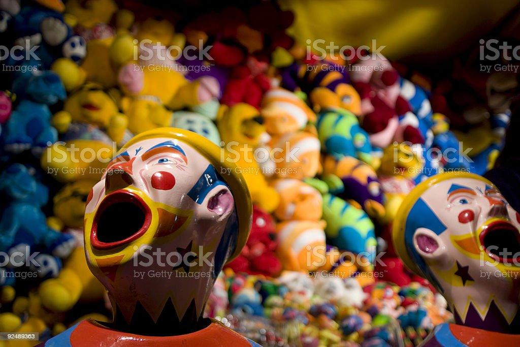 County Fair clowns Lizenzfreies stock-foto