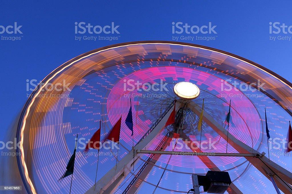 County Fair Ferris Wheel royalty-free stock photo