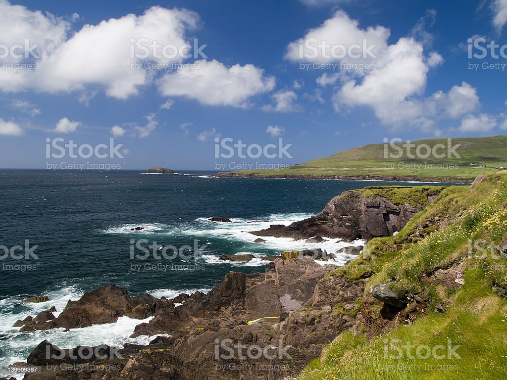 County Kerry Landscape stock photo