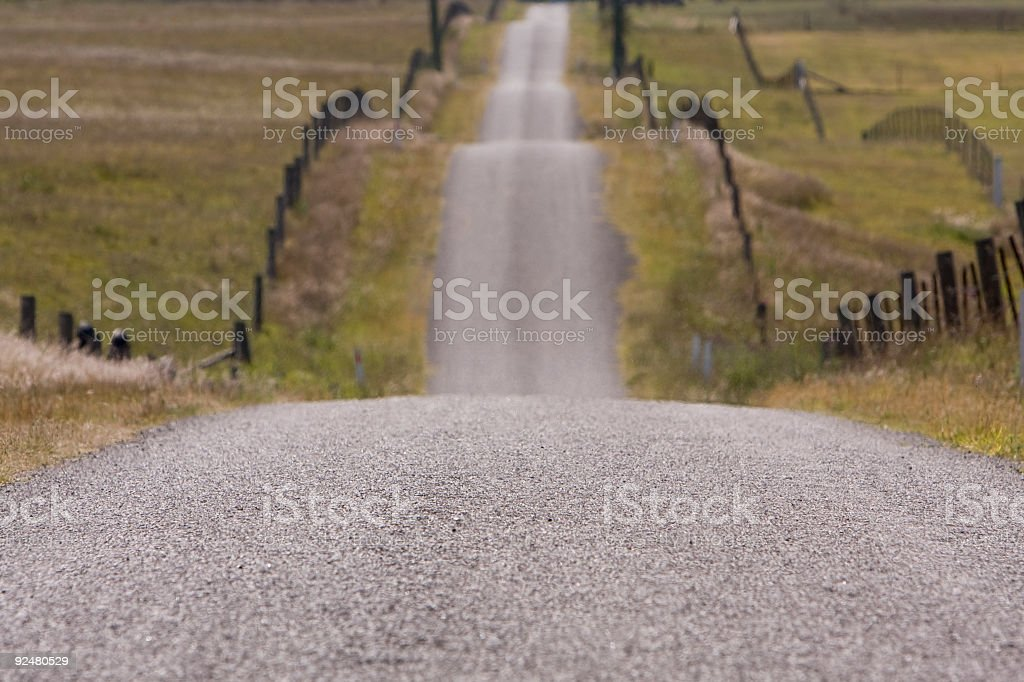 County road in Australia royalty-free stock photo