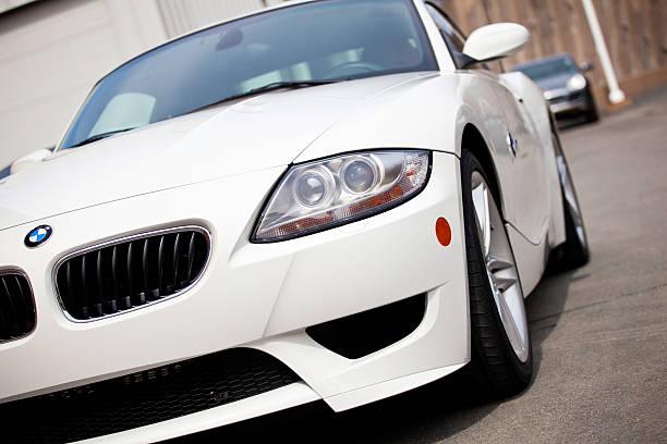 BMW Z4 M Coupe stock photo