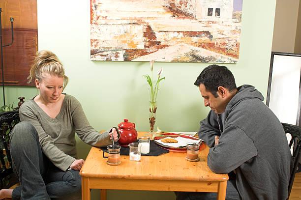 couple arguing stock photo