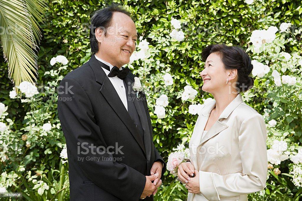 Couple at a wedding 免版稅 stock photo