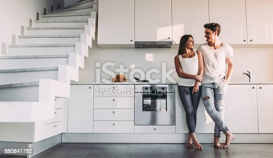 istock Couple at home. 880841782