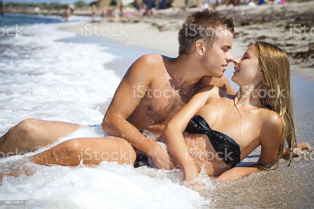 Paar im Sommer – Foto