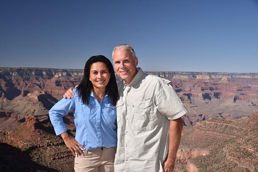 Couple at the Grand Canyon, Arizona