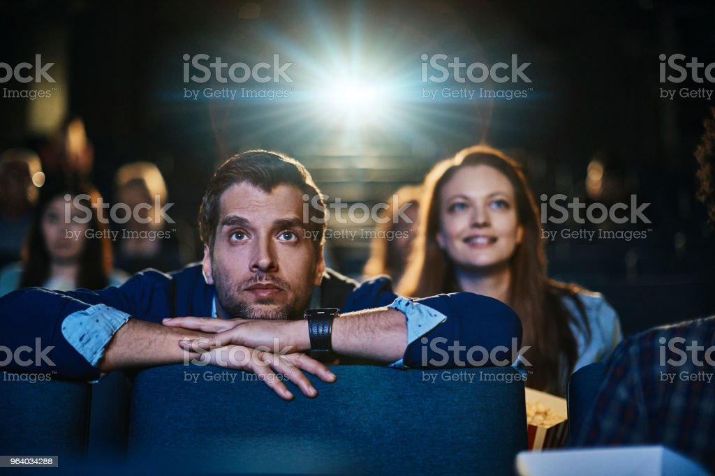 Couple at the movies - Royalty-free 30-39 Years Stock Photo