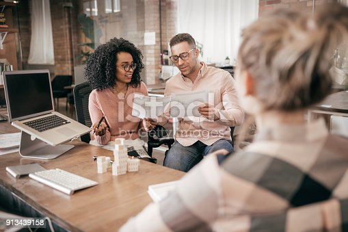 689401592 istock photo Couple buying new condo 913439158