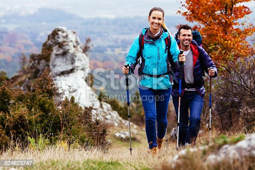 istock Couple camping 524623747