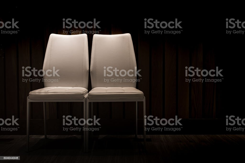 Couple chair stock photo