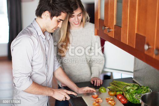 istock Couple Cooking a Meal 539117506