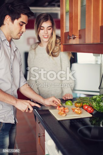 istock Couple Cooking a Meal 539220382