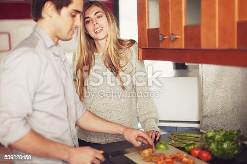 istock Couple Cooking a Meal 539220458