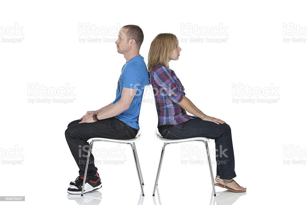Couple crisis stock photo