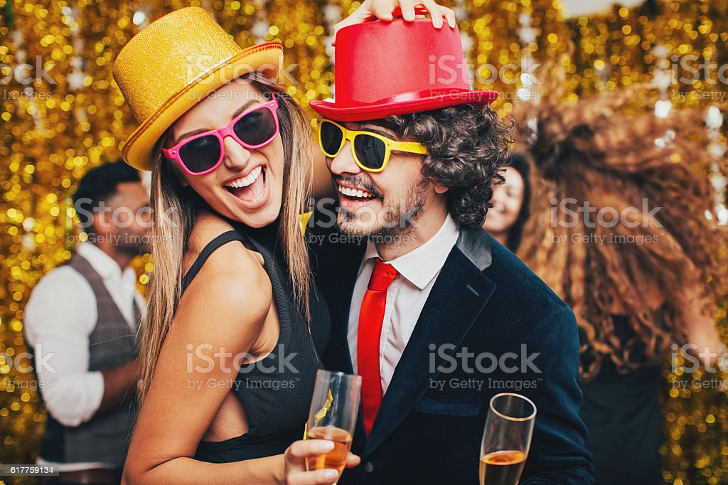 Couple dancing on a formal party - Photo