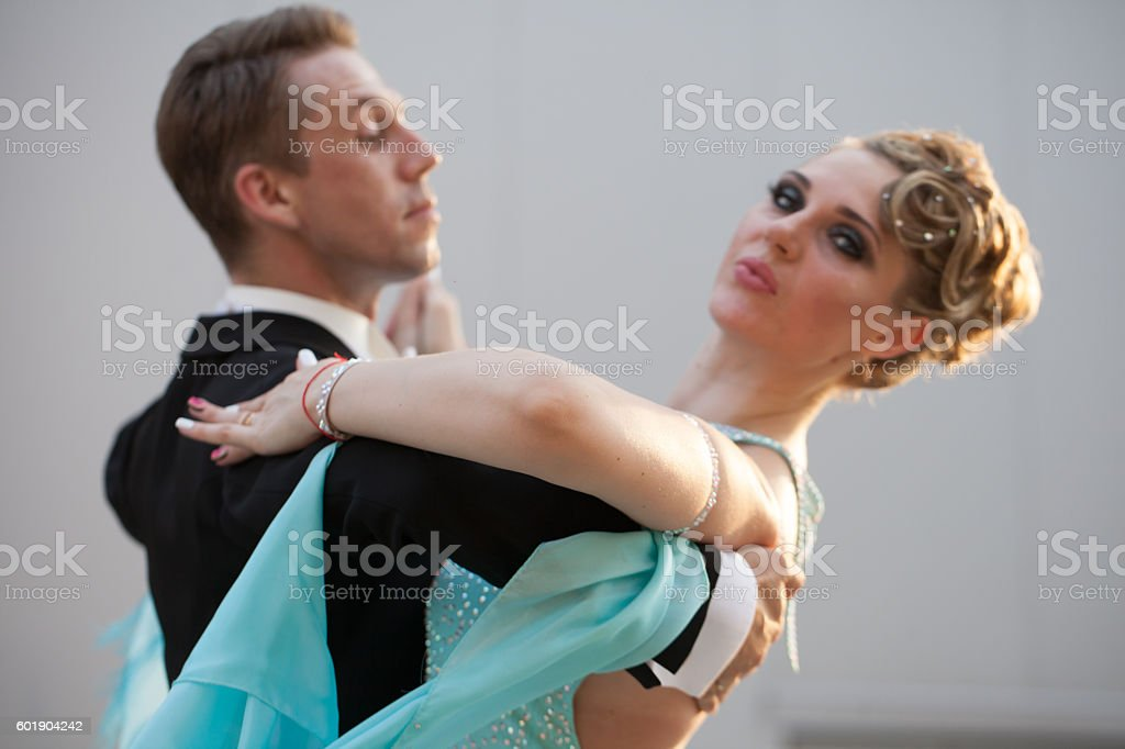 couple dancing stock photo
