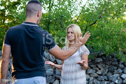 istock Couple discussing their relationship. 1169110145
