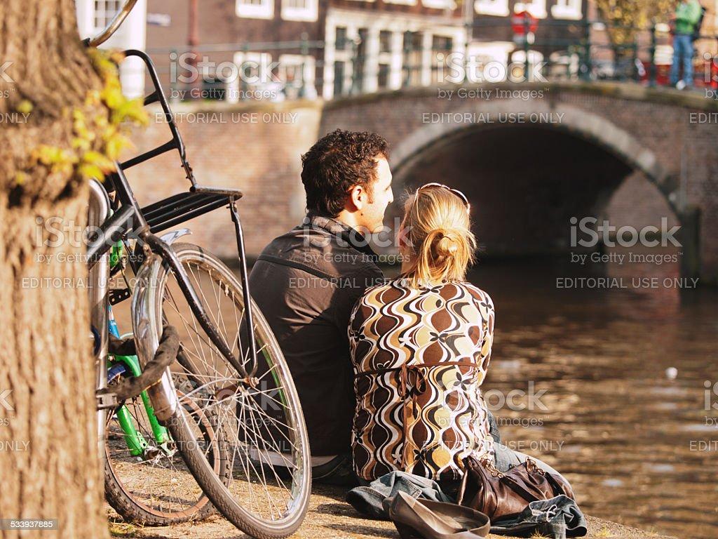 Couple d'Amsterdam - Photo