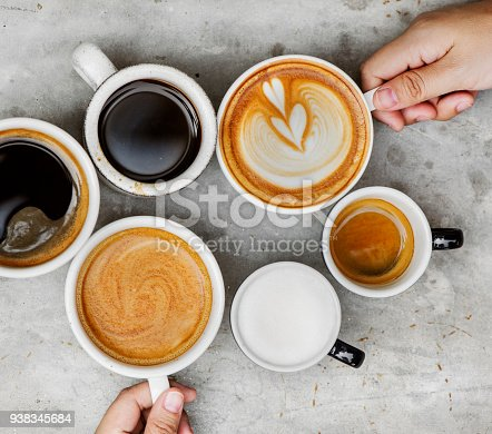 Couple enjoying coffee on the weekend