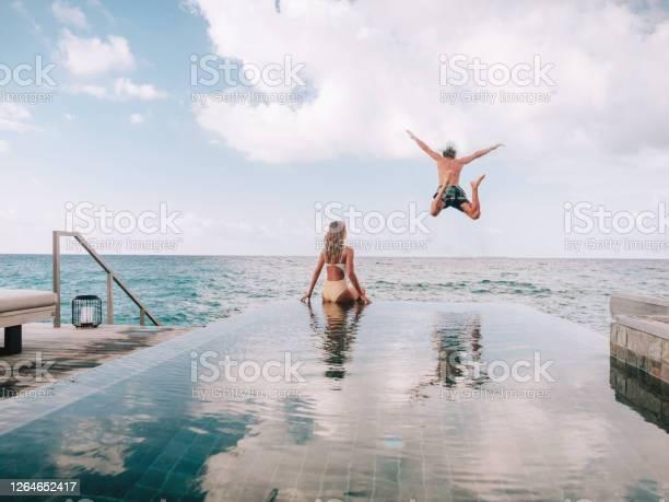 Photo of Couple enjoying luxury vacations