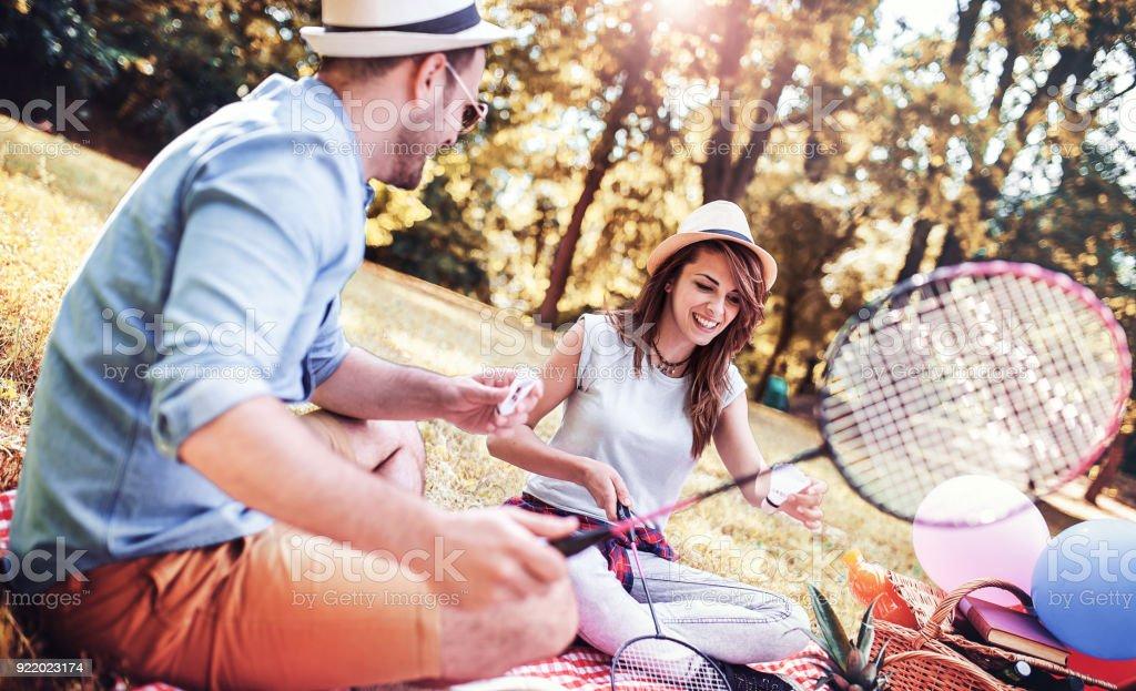 Badminton dating