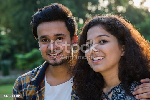 507375092istockphoto Couple face close up - stock images 1061211154
