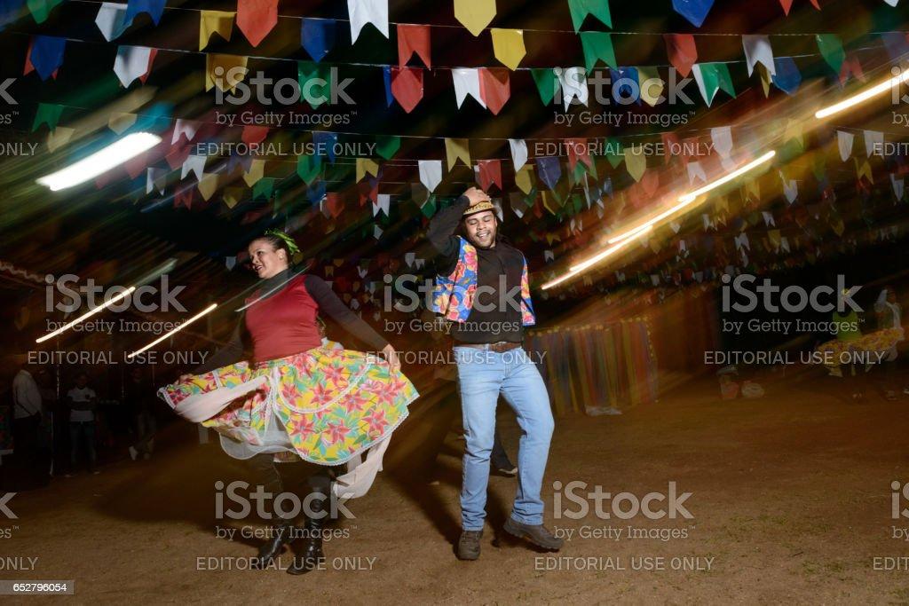 Casal, Festa Junina tradição no Brasil (Festa de São João) - foto de acervo